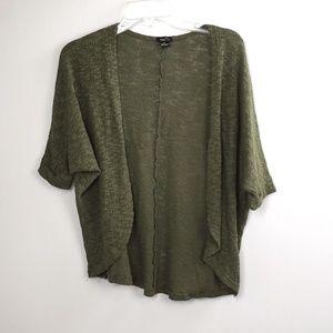 Rue 21 Women's Olive Green Shrug size XS